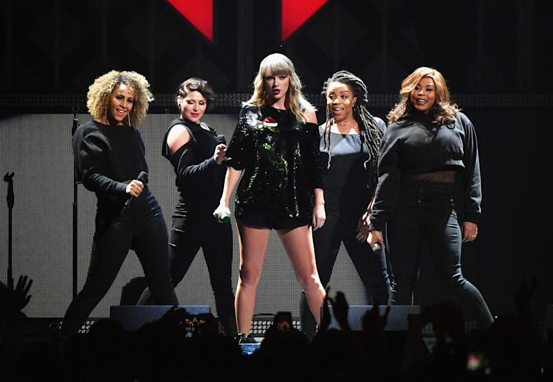 Swift got one special introduction on Friday night.