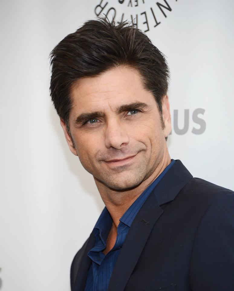 """BEVERLY HILLS, CA - MARCH 06:  Actor John Stamos attends the Paley Center For Media's PaleyFest 2013 Honoring """"The New Normal"""" at Saban Theatre on March 6, 2013 in Beverly Hills, California.  (Photo by Jason Kempin/Getty Images)"""
