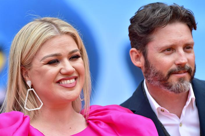 Kelly Clarkson filed for divorce from husband Brandon Blackstock (pictured with her in April 2019) in June. (Photo: Axelle/Bauer-Griffin/FilmMagic)