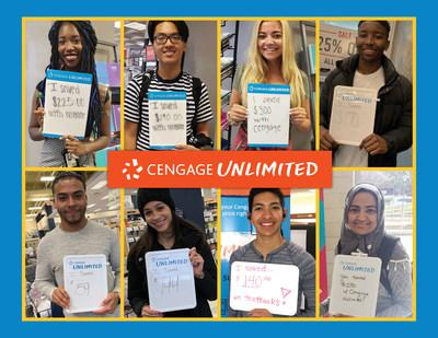 Since launching in August 2018, Cengage Unlimited has saved college students over $200 million with more than 2.6 million subscriptions sold.
