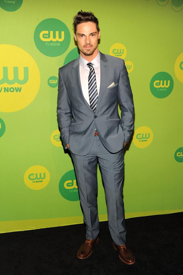NEW YORK, NY - MAY 16:  Actor Jay Ryan attends The CW Network's New York 2013 Upfront Presentation at The London Hotel on May 16, 2013 in New York City.  (Photo by Ben Gabbe/Getty Images)