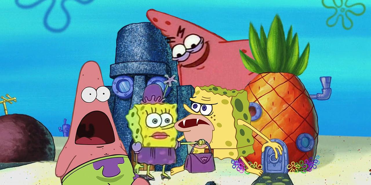 """<p><em></em>Memes are the spice of online life. They make us laugh, they make us feel like insiders, and just when you find yourself sliding into a pit of despair about the state of the Internet, they make it seem generative and democratic. So why are Spongebob Squarepants and his kooky friends the starring characters in so many of them? We have a theory--namely, that <em>Spongebob</em>'s sensibility is tailor-made for the Internet. The show is surreal, nonsensical, frantic, slapstick, phantasmagoric. Sounds a lot like life online, doesn't it? For anyone who's been living under a rock (hey, if Patrick can do it, so can you), we've done a deep dive into the weird world of SpongeBob memes to celebrate the beloved cartoon's 20th anniversary. </p><p>Are you ready, kids? (That's the part where you say: """"Aye-aye, captain!"""")</p>"""