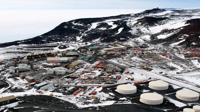 Patient Rescued From Antarctic Research Station