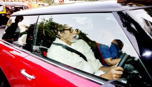 Abhishek bought his baby daughter Aaradhya a Mini Cooper S for her first birthday