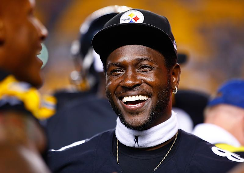 Antonio Brown ended up being a great player coming out of Central Michigan, but not everyone was convinced at the time. (Getty Images)