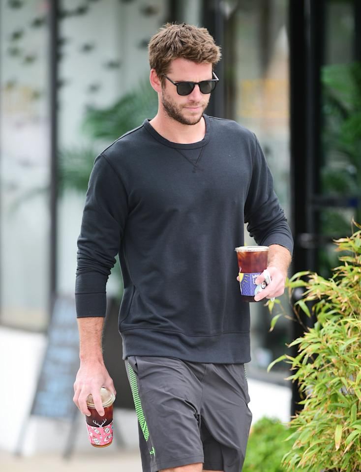 """<p>Just two days after their beach date make-out sesh, <strong>People</strong> reported that <a href=""""http://people.com/movies/liam-hemsworth-is-getting-serious-with-new-girlfriend-gabriella-brooks-says-source/"""" target=""""_blank"""" class=""""ga-track"""" data-ga-category=""""Related"""" data-ga-label=""""http://people.com/movies/liam-hemsworth-is-getting-serious-with-new-girlfriend-gabriella-brooks-says-source/"""" data-ga-action=""""In-Line Links"""">things were starting to get serious</a> with Liam and his new lady. """"Liam and Gabriella have spent a lot of time in Australia together,"""" an insider revealed to the magazine. The source also confirmed that the two share similar interests - such as exercising, surfing, and hitting up the beach - and that Liam's friends all approve of her. """"Liam has been in a great mood,"""" the source added. </p>"""