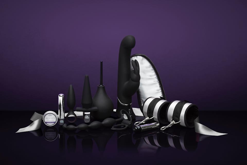 The company launched a Fifty Shades of Grey collection. (LoveHoney)