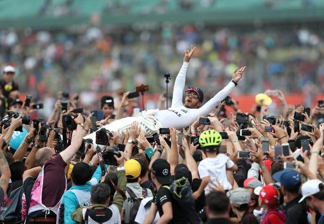 140,000 fans are set to watch Lewis Hamilton at the British Grand Prix