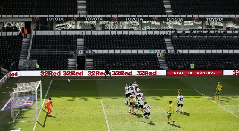 Championship - Derby County v Norwich City