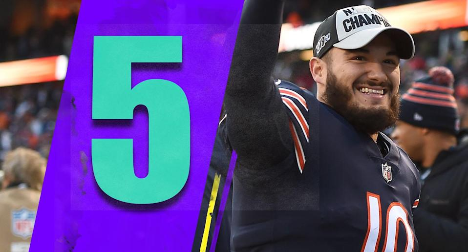 <p>The Bears might run the NFC North for a while. There's no reason to believe the Packers or Vikings will be better than them next season (we don't even need to mention the Lions). (Mitchell Trubisky) </p>
