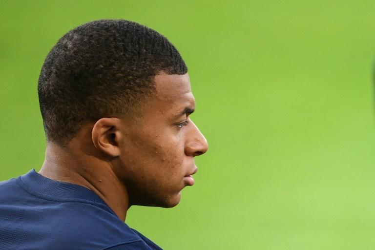 Kylian Mbappe can walk away from PSG for free at the end of the season (AFP/FRANCK FIFE)