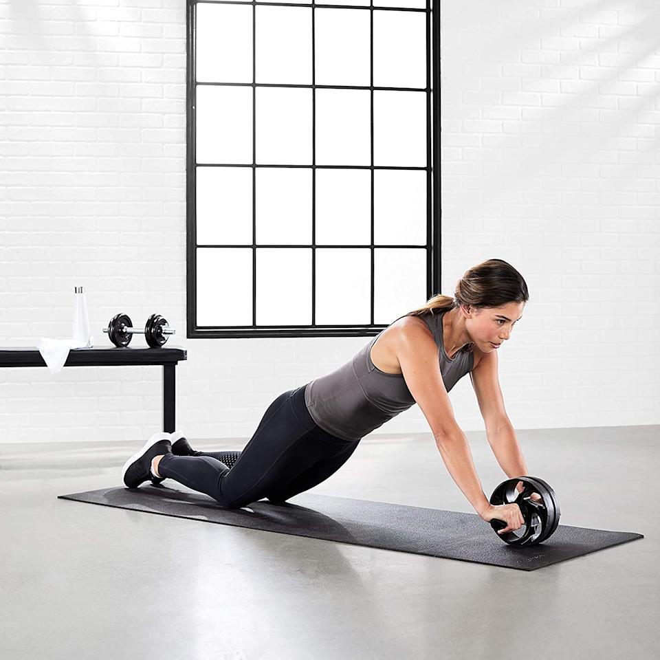 Amazon Canada's fitness sale is filled with the gear you need to revamp your home gym. Image via Amazon.