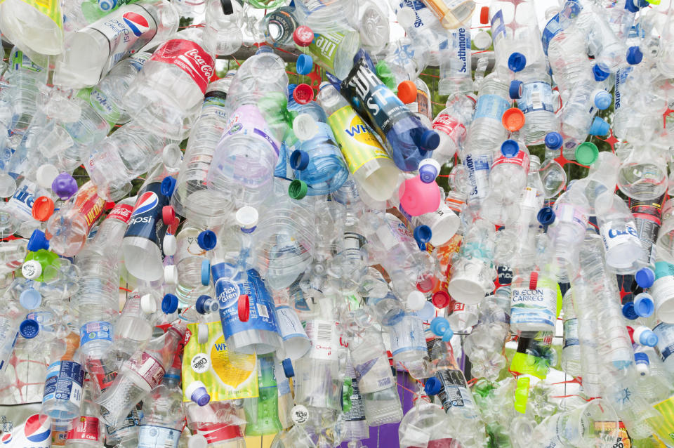Plastic bottles, chewing gum and takeaway cartons could be subject to taxation in the future (Eye Ubiquitous/UIG via Getty Images)