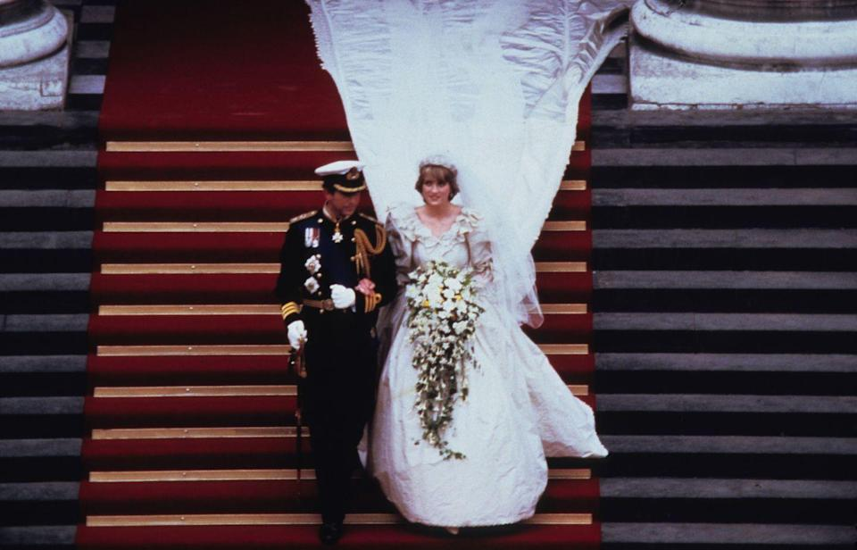 "<p>Prince Charles married Lady Diana Spencer on July 29 in a ceremony considered by many to be the ""wedding of the century."" As per norm, this British wedding followed long-held traditions and was televised in it's entirety.</p>"