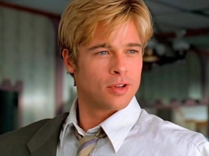 brad pitt meet joe black