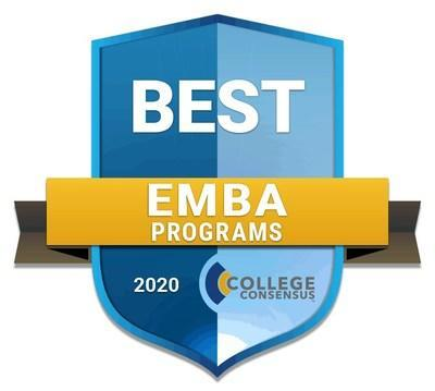College Consensus Best EMBA Programs 2020