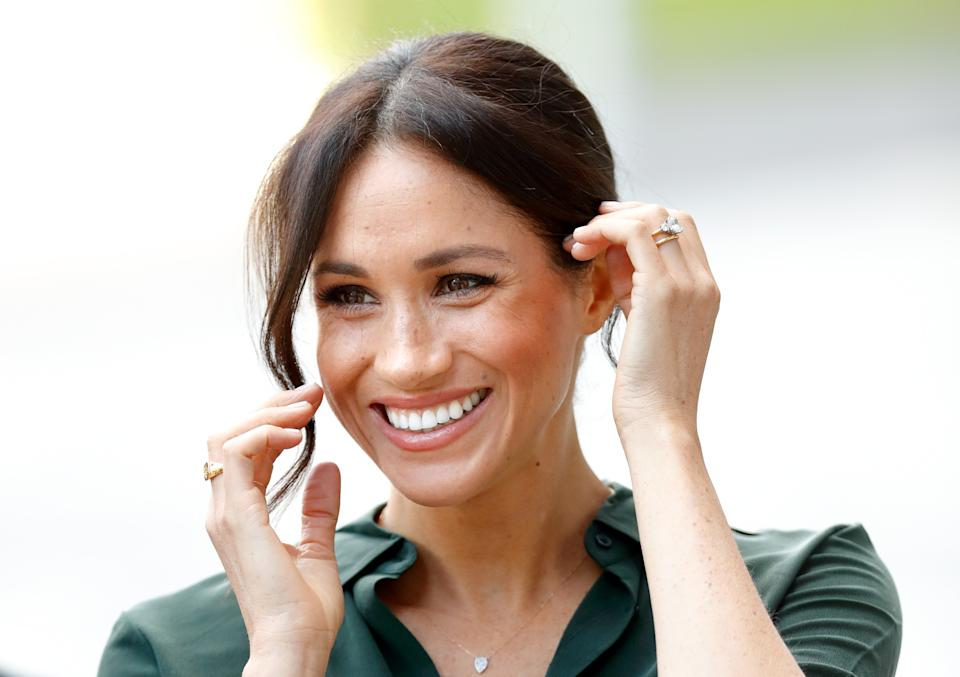 Meghan Markle is open about her love of Tatcha. (Photo: Getty)