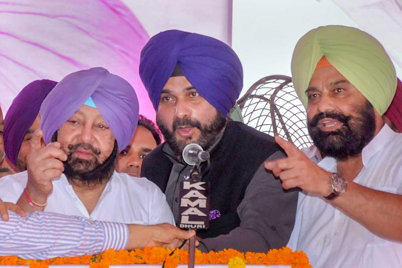 Sidhu Sends Resignation to Amarinder Month After Quitting, CM Retorts With 'Discipline' Jibe