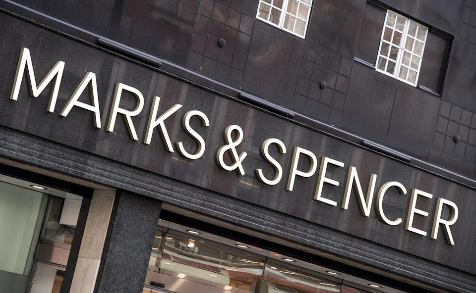 General View of a Marks & Spencer store in London. (Photo by Ian West/PA Images via Getty Images)