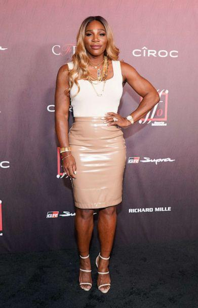 PHOTO: Serena Williams attends Sports Illustrated Fashionable 50 at The Sunset Room, July 18, 2019, in Los Angeles. (Rachel Luna/WireImage/Getty Images)
