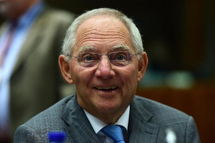 German Finance Minister Wolfgang Schaeuble has invited his G7 counterparts and their central bank chiefs to Dresden (AFP Photo/Emmanuel Dunand)