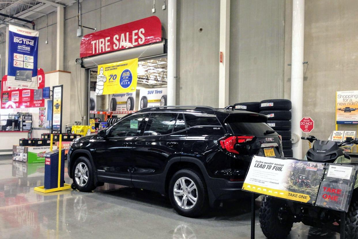 cars to purchase at Costco