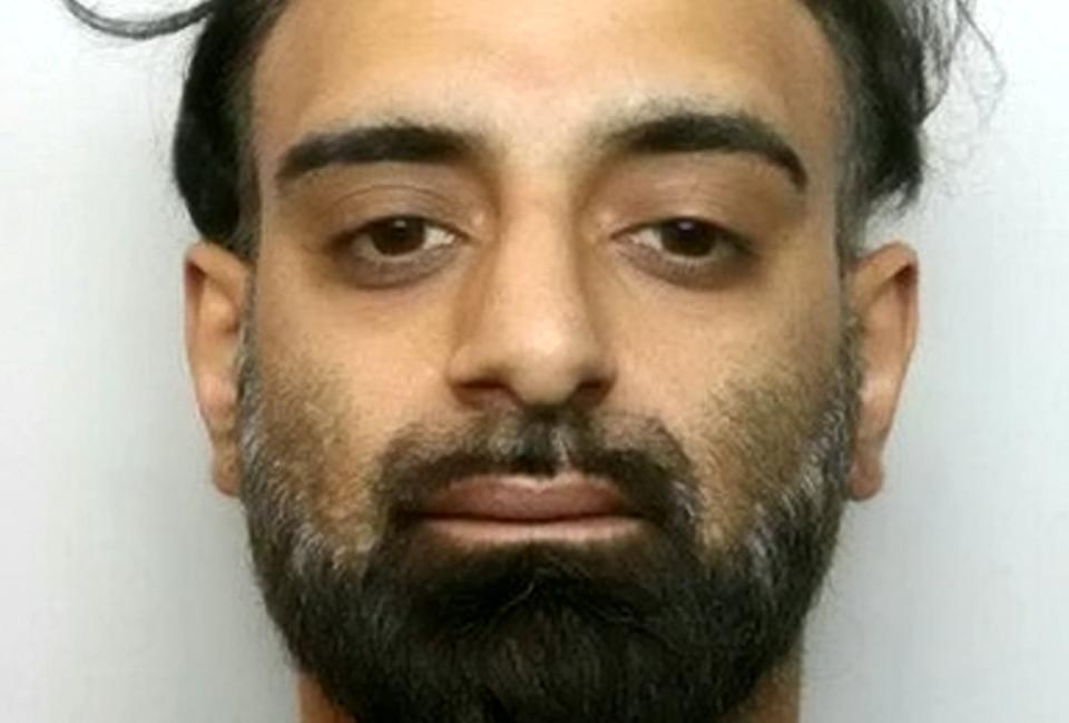 Zeshan Akhtar.  A night porter sneaked into a woman's room in a posh Northamptonshire hotel before climbing on top of her and biting her neck.   See SWNS story SWMDperv.   Zeshan Akhtar walked into the room at the four star Talbot Hotel in Oundle where he had been working and pinned the woman's arms above her head so he could carry out his assault.  Northampton Crown Court heard that the woman had noticed Akhtar, 39, staring at her uncomfortably in the hotel bar that evening in early 2018.  In the early hours, the woman had gone up to her room, got changed, and got into bed, but five minutes later she heard him come into the room and he climbed on the quilt on top of her. She tried to push him away but he got off the bed, lifted the quilt, saying 'Show me what you've got'.  Akhtar had initially denied the incident and had been due to stand trial this April. But days before he was due in court he was arrested at Heathrow airport trying to board a plane to Pakistan.