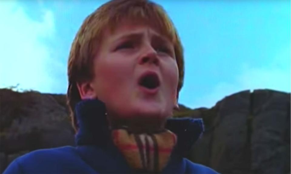 <p>Although it made his name, Welsh singer Aled Jones didn't actually sing 'Walking In The Air' in 'The Snowman', Peter Auty did. Aled Jones' version, which was recorded for a toy store advert, was released three years after the film. </p>