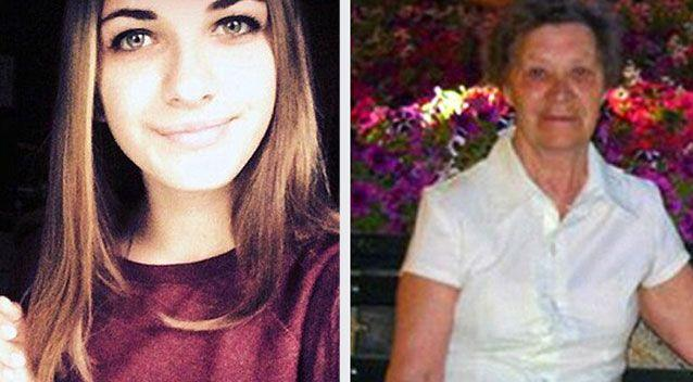 Maria Ivleva, 15, and Nadezhda Bashakova, 77, from the St Petersburg region of Russia, were killed instantly when a bomb detonated beneath their seats. Photo: Supplied