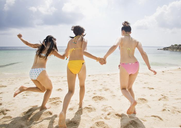 <p>The bikini is the official uniform for beach volleyball and is widely worn in athletics and other sports. </p>