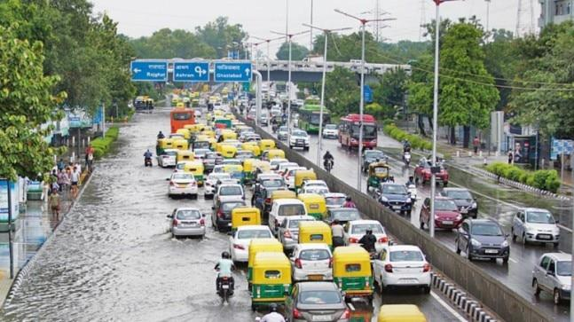Delhiites will again have their daily lives paralysed because of massive water-logging and subsequent traffic jams.