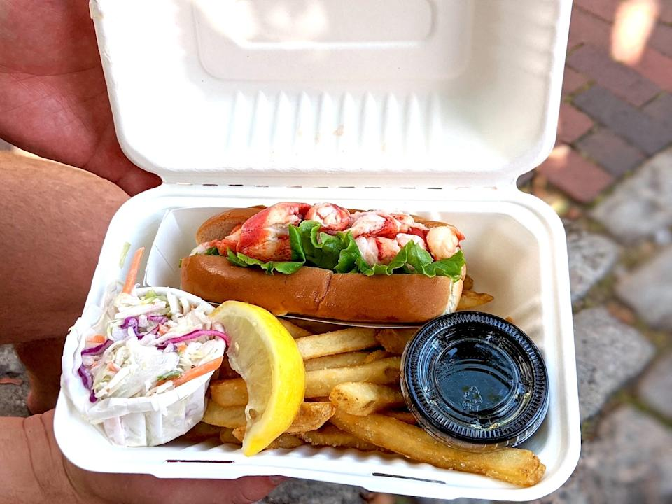 lobster roll maine