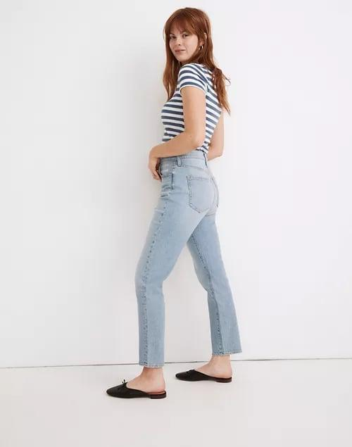 <p>These <span>Madewell The Curvy Perfect Vintage Jeans</span> ($115) fit like a glove and are the perfect spring/summer wash.</p>