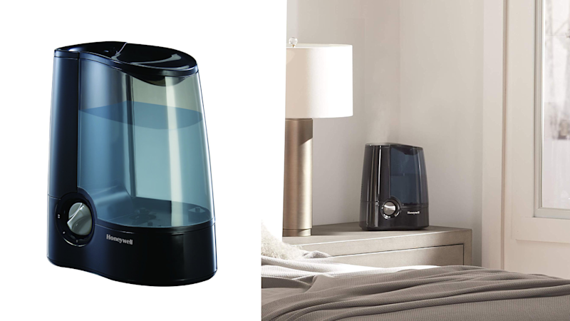 This humidifier is virtually silent.