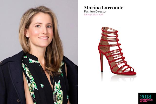 Marina Larroude, fashion director, Barneys New York. (Photo: Courtesy of Barneys New York)