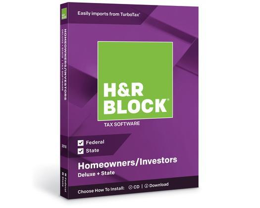 H&R Block Deluxe Tax Software (Photo: H&R Block)