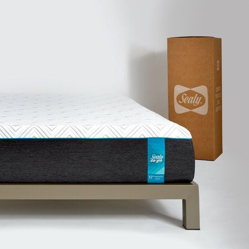 """<h3>Wayfair</h3><br><strong>Dates:</strong> Now - 12/4<br><strong>Deal: </strong>Up to 70% off <a href=""""https://www.wayfair.com/daily-sales/mattress-blowout~e202116.html?group_id=4789&root=black-friday"""" rel=""""nofollow noopener"""" target=""""_blank"""" data-ylk=""""slk:select mattresses"""" class=""""link rapid-noclick-resp"""">select mattresses</a> <br><strong>Promo Code: </strong>No code needed<br><br><em>Shop </em><strong><em><a href=""""https://www.wayfair.com/"""" rel=""""nofollow noopener"""" target=""""_blank"""" data-ylk=""""slk:Wayfair"""" class=""""link rapid-noclick-resp"""">Wayfair</a></em></strong><em><br></em><br><br><strong>Sealy</strong> Sealy 12"""" Plush Memory Foam Mattress, $, available at <a href=""""https://go.skimresources.com/?id=30283X879131&url=https%3A%2F%2Fwww.wayfair.com%2Ffurniture%2Fpdp%2Fsealy-12-plush-memory-foam-mattress-scm1362.html%3Fpiid%3D32003575"""" rel=""""nofollow noopener"""" target=""""_blank"""" data-ylk=""""slk:Wayfair"""" class=""""link rapid-noclick-resp"""">Wayfair</a>"""