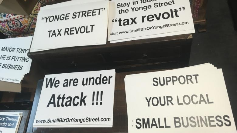 Tax cut of 50% temporary relief for Yonge Street businesses, but their future is still uncertain