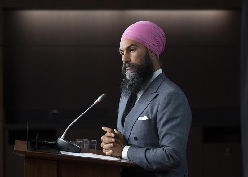 NDP's Singh not itching to force an election, focused on getting help for Canadians