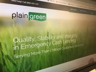 Plain Green — a tribal lending entity, wholly owned by the Chippewa Cree Tribe of the Rocky Boy's Indian Reservation in Montana — offers online loans but consumers are charged triple-digit interest rates.