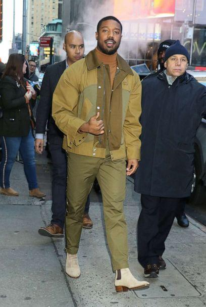 PHOTO: Michael B. Jordan is seen on Dec. 18, 2019 in New York City. (GC Images via Getty Images)