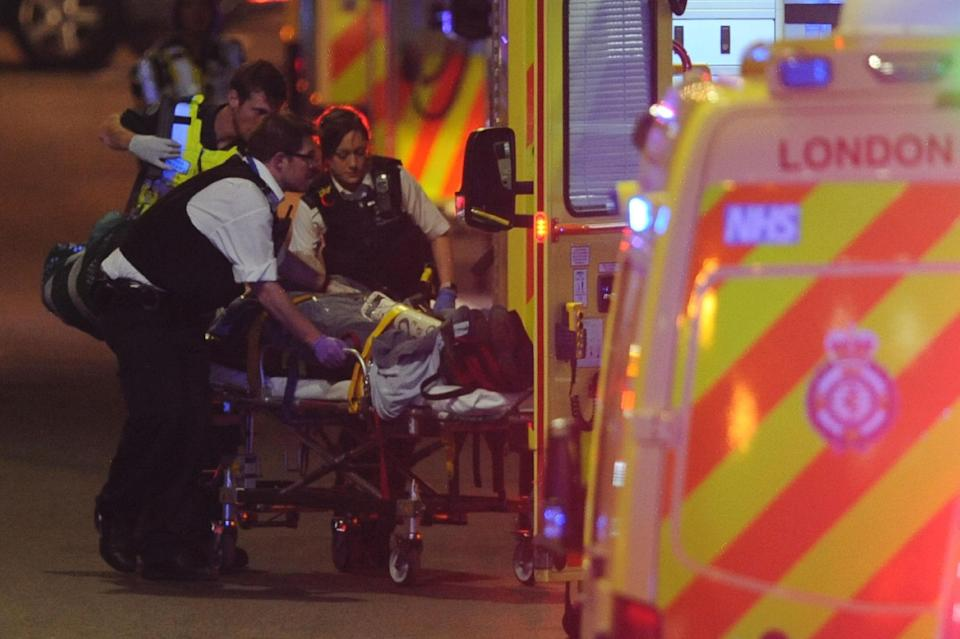 Eight victims were killed in the 2017 attack, pictured (Daniel Sorabji/AFP/Getty Images)