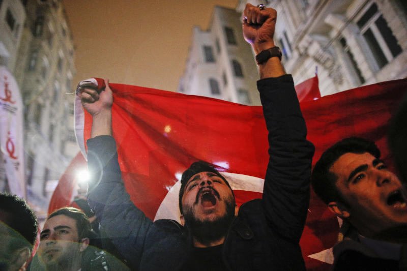 The Latest: Turkish foreign minister warns of repercussions