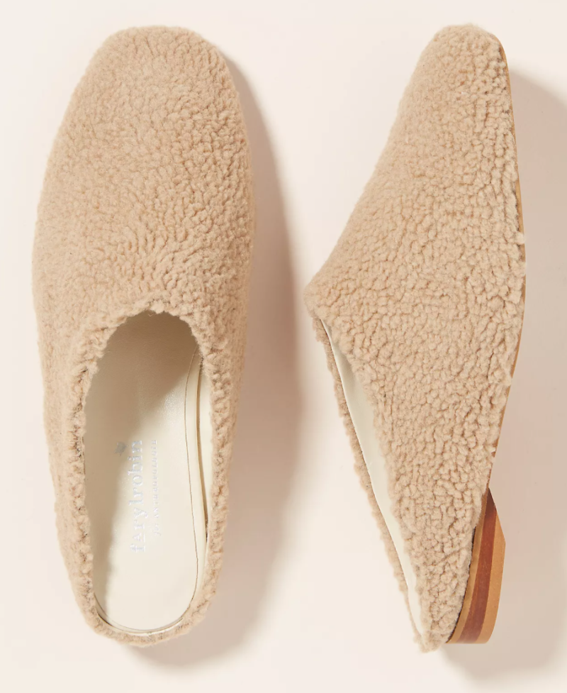 Farylrobin Ryan Wool Mules in Cream