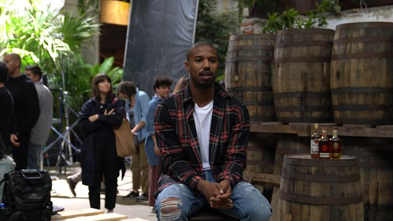 Bacardi recently hired actor Michael B. Jordan to direct and star in a commercial for the liquor brand. | Bacardi
