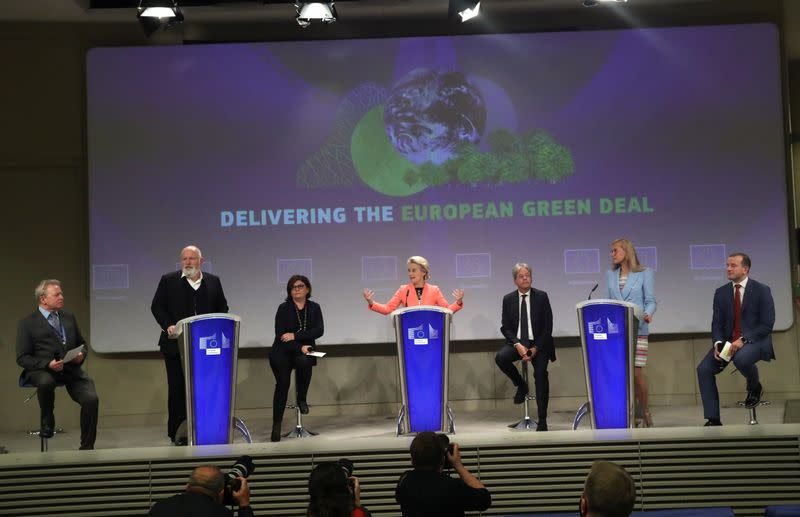 EU releases new climate policy proposals in Brussels