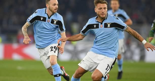 Foot - ITA - Immobile libère la Lazio Rome contre Naples