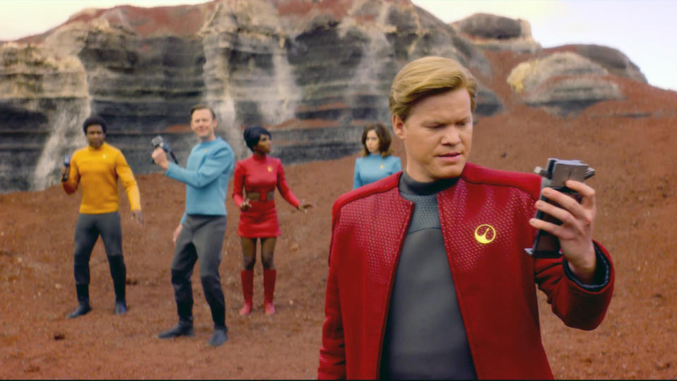 Jesse Plemons in <em>Black Mirror</em>. (Photo: Netflix via AP)