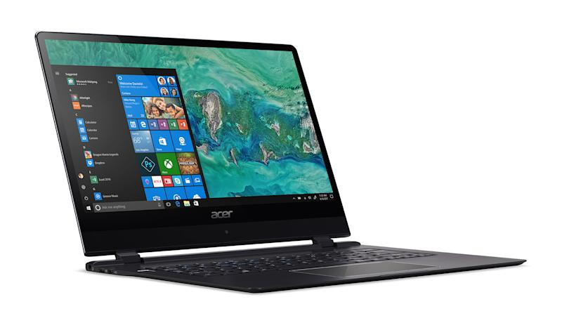 Acer says its Swift 7, unveiled at CES 2018, is the thinnest laptop in the world.