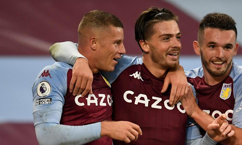 Without Jack Grealish (centre), Ross Barkley (left) and John McGinn (right) need to step up.